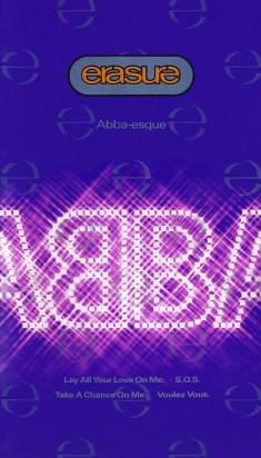 ABBA-esque - VHS Sleeve