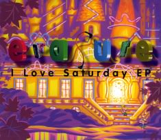 I Love Saturday - EPCD Sleeve
