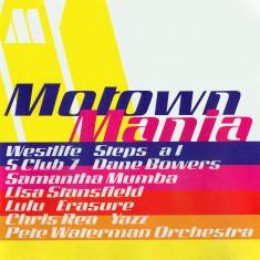 Motown Mania - Tracklisting Sleeve