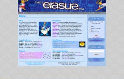 Onge's Erasure Page: Aug 04 to Mar 11 screenshot 1