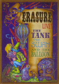 The Tank, The Swan & The Balloon - DVD Sleeve