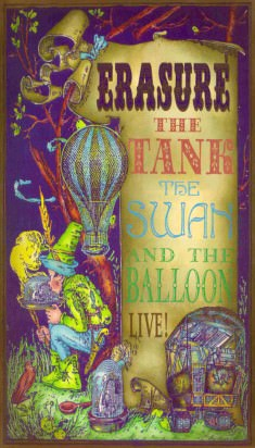 The Tank, The Swan & The Balloon - VHS Sleeve