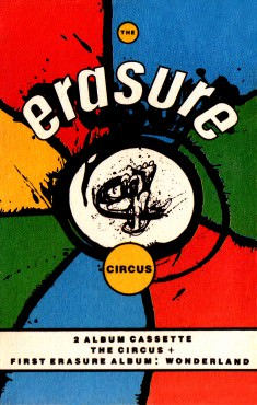 The Circus - Double Album Cassette Sleeve