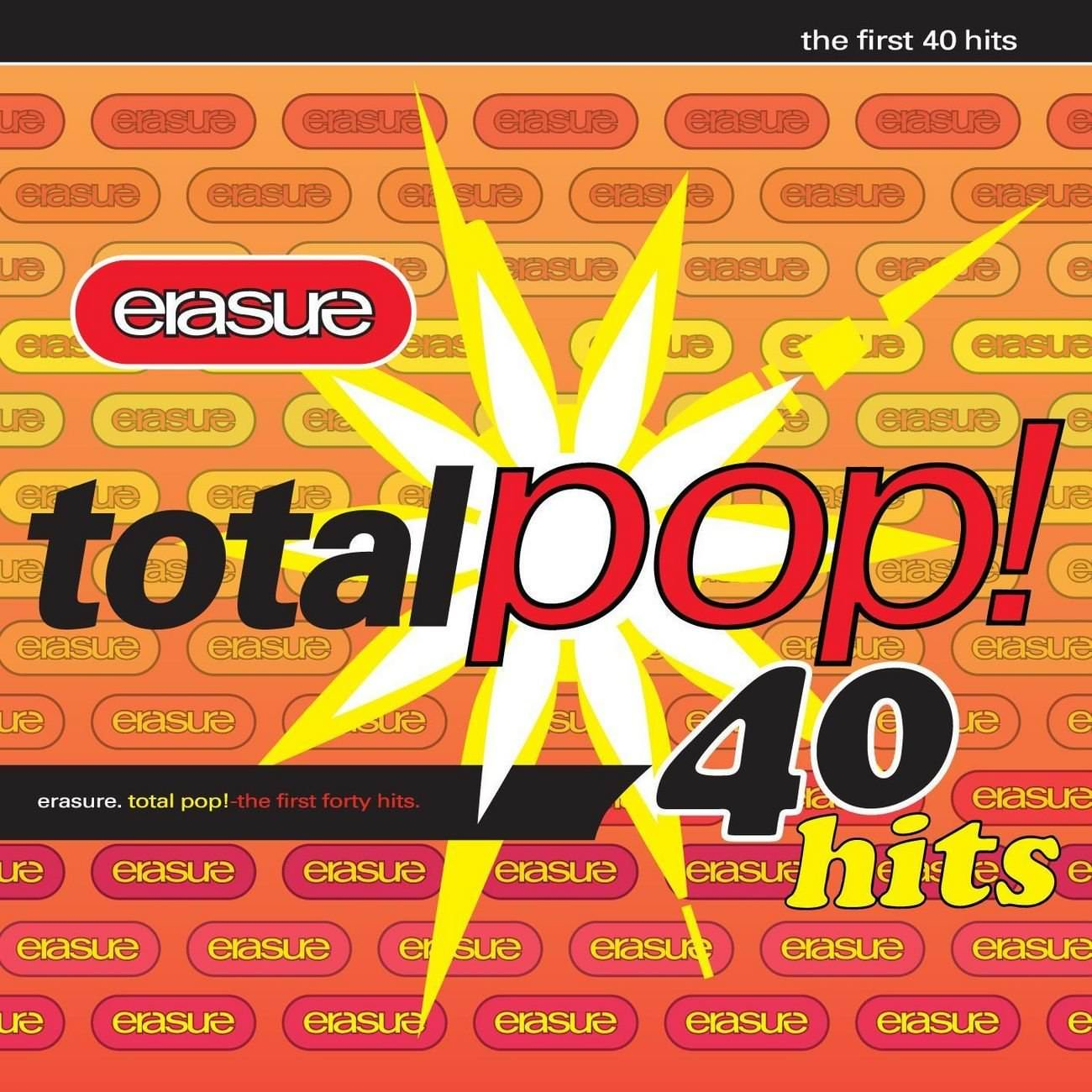 Total Pop The First 40 Hits 187 Albums 187 Erasure