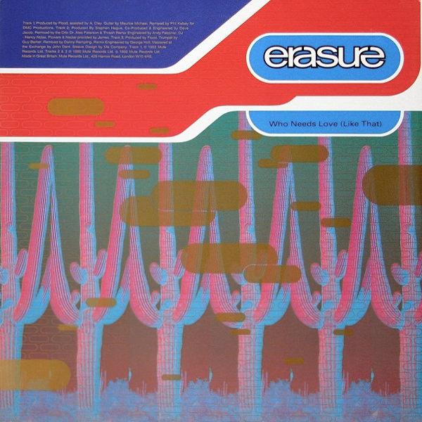 Erasure The Circus 12 Sampler